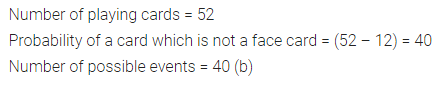 ML Aggarwal Class 10 Solutions for ICSE Maths Chapter 22 Probability MCQS 12