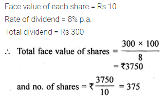ML Aggarwal Class 10 Solutions for ICSE Maths Chapter 3 Shares and Dividends Ex 3 11