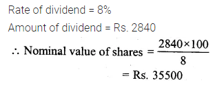 ML Aggarwal Class 10 Solutions for ICSE Maths Chapter 3 Shares and Dividends Ex 3 2