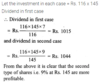 ML Aggarwal Class 10 Solutions for ICSE Maths Chapter 3 Shares and Dividends Ex 3 22