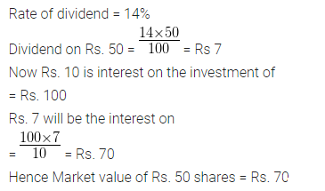ML Aggarwal Class 10 Solutions for ICSE Maths Chapter 3 Shares and Dividends Ex 3 29