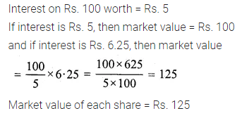ML Aggarwal Class 10 Solutions for ICSE Maths Chapter 3 Shares and Dividends Ex 3 30