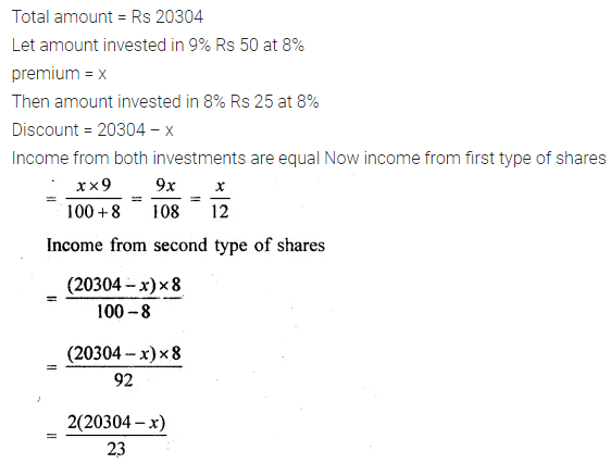 ML Aggarwal Class 10 Solutions for ICSE Maths Chapter 3 Shares and Dividends Ex 3 36