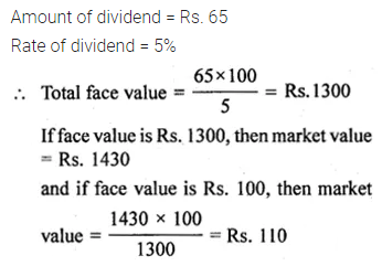 ML Aggarwal Class 10 Solutions for ICSE Maths Chapter 3 Shares and Dividends Ex 3 4