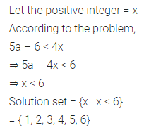 ML Aggarwal Class 10 Solutions for ICSE Maths Chapter 4 Linear Inequations Chapter Test 8