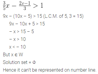 ML Aggarwal Class 10 Solutions for ICSE Maths Chapter 4 Linear Inequations Ex 4 14