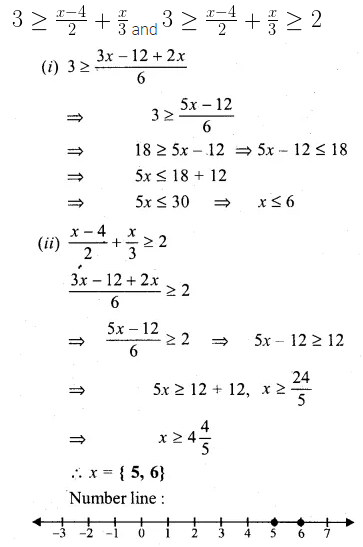 ML Aggarwal Class 10 Solutions for ICSE Maths Chapter 4 Linear Inequations Ex 4 16