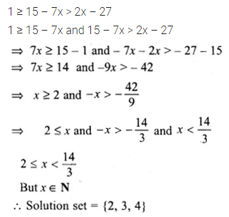 ML Aggarwal Class 10 Solutions for ICSE Maths Chapter 4 Linear Inequations Ex 4 18