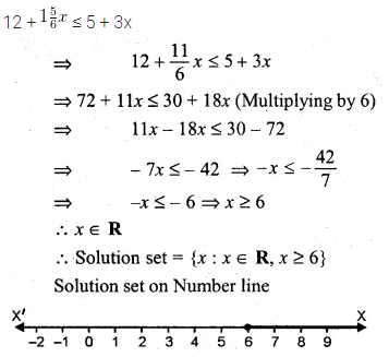 ML Aggarwal Class 10 Solutions for ICSE Maths Chapter 4 Linear Inequations Ex 4 20
