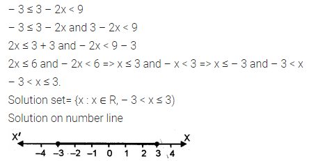 ML Aggarwal Class 10 Solutions for ICSE Maths Chapter 4 Linear Inequations Ex 4 23