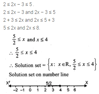 ML Aggarwal Class 10 Solutions for ICSE Maths Chapter 4 Linear Inequations Ex 4 24