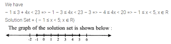ML Aggarwal Class 10 Solutions for ICSE Maths Chapter 4 Linear Inequations Ex 4 25