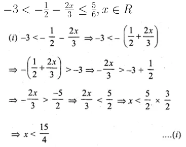 ML Aggarwal Class 10 Solutions for ICSE Maths Chapter 4 Linear Inequations Ex 4 27