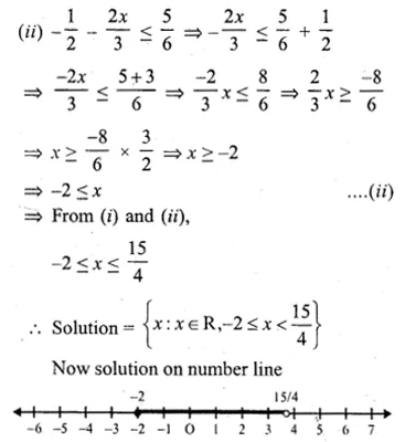 ML Aggarwal Class 10 Solutions for ICSE Maths Chapter 4 Linear Inequations Ex 4 28