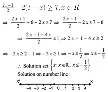 ML Aggarwal Class 10 Solutions for ICSE Maths Chapter 4 Linear Inequations Ex 4 29