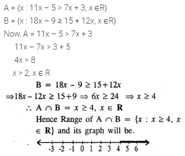 ML Aggarwal Class 10 Solutions for ICSE Maths Chapter 4 Linear Inequations Ex 4 35