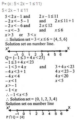 ML Aggarwal Class 10 Solutions for ICSE Maths Chapter 4 Linear Inequations Ex 4 36
