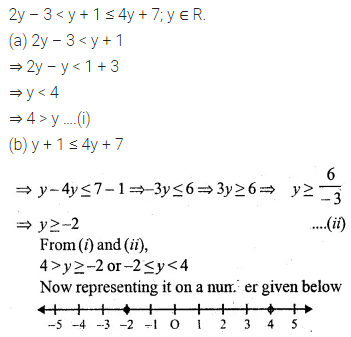 ML Aggarwal Class 10 Solutions for ICSE Maths Chapter 4 Linear Inequations Ex 4 40