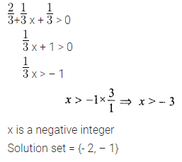 ML Aggarwal Class 10 Solutions for ICSE Maths Chapter 4 Linear Inequations Ex 4 6