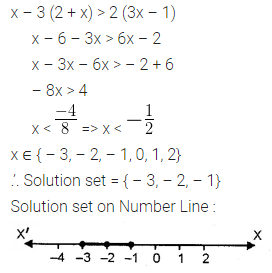 ML Aggarwal Class 10 Solutions for ICSE Maths Chapter 4 Linear Inequations Ex 4 8