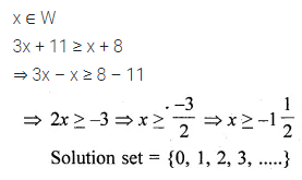ML Aggarwal Class 10 Solutions for ICSE Maths Chapter 4 Linear Inequations MCQS 2