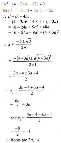 ML Aggarwal Class 10 Solutions for ICSE Maths Chapter 5 Quadratic Equations in One Variable Chapter Test 15