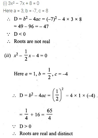 ML Aggarwal Class 10 Solutions for ICSE Maths Chapter 5 Quadratic Equations in One Variable Chapter Test 18