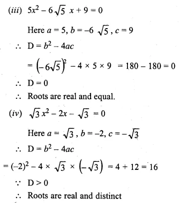 ML Aggarwal Class 10 Solutions for ICSE Maths Chapter 5 Quadratic Equations in One Variable Chapter Test 19