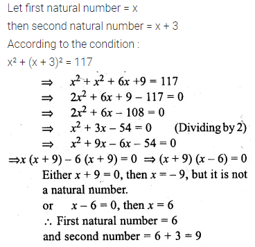 ML Aggarwal Class 10 Solutions for ICSE Maths Chapter 5 Quadratic Equations in One Variable Chapter Test 24