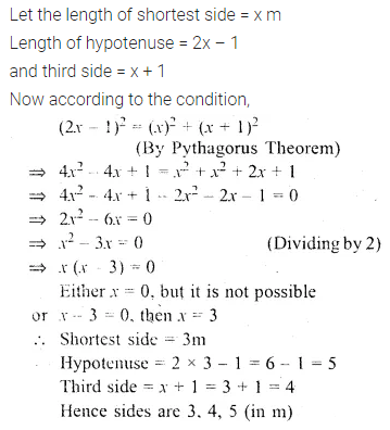 ML Aggarwal Class 10 Solutions for ICSE Maths Chapter 5 Quadratic Equations in One Variable Chapter Test 30