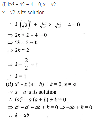 ML Aggarwal Class 10 Solutions for ICSE Maths Chapter 5 Quadratic Equations in One Variable Ex 5.1 11