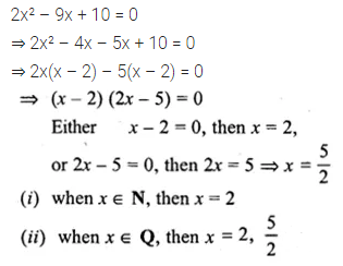 ML Aggarwal Class 10 Solutions for ICSE Maths Chapter 5 Quadratic Equations in One Variable Ex 5.2 13
