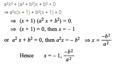 ML Aggarwal Class 10 Solutions for ICSE Maths Chapter 5 Quadratic Equations in One Variable Ex 5.2 15