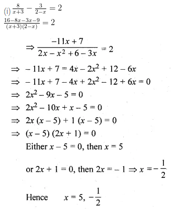 ML Aggarwal Class 10 Solutions for ICSE Maths Chapter 5 Quadratic Equations in One Variable Ex 5.2 22