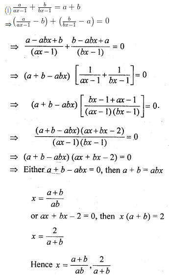 ML Aggarwal Class 10 Solutions for ICSE Maths Chapter 5 Quadratic Equations in One Variable Ex 5.2 28