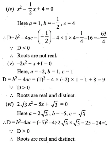 ML Aggarwal Class 10 Solutions for ICSE Maths Chapter 5 Quadratic Equations in One Variable Ex 5.4 4