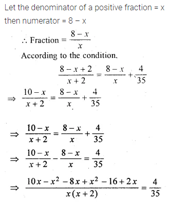 ML Aggarwal Class 10 Solutions for ICSE Maths Chapter 5 Quadratic Equations in One Variable Ex 5.5 13