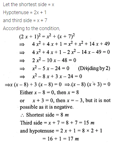 ML Aggarwal Class 10 Solutions for ICSE Maths Chapter 5 Quadratic Equations in One Variable Ex 5.5 26