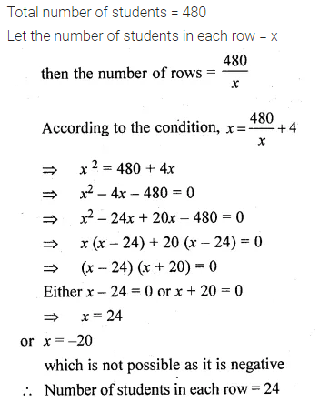 ML Aggarwal Class 10 Solutions for ICSE Maths Chapter 5 Quadratic Equations in One Variable Ex 5.5 28