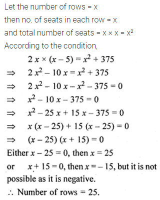 ML Aggarwal Class 10 Solutions for ICSE Maths Chapter 5 Quadratic Equations in One Variable Ex 5.5 29