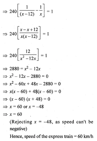 ML Aggarwal Class 10 Solutions for ICSE Maths Chapter 5 Quadratic Equations in One Variable Ex 5.5 34