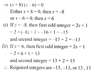 ML Aggarwal Class 10 Solutions for ICSE Maths Chapter 5 Quadratic Equations in One Variable Ex 5.5 4