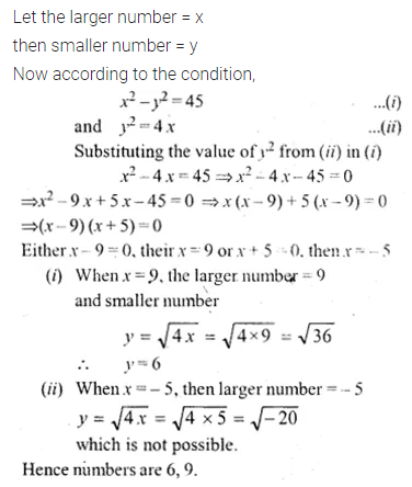ML Aggarwal Class 10 Solutions for ICSE Maths Chapter 5 Quadratic Equations in One Variable Ex 5.5 8