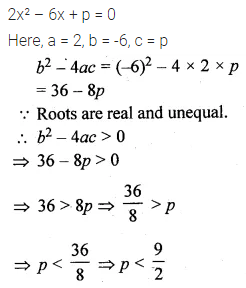 ML Aggarwal Class 10 Solutions for ICSE Maths Chapter 5 Quadratic Equations in One Variable MCQS 12