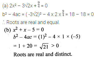 ML Aggarwal Class 10 Solutions for ICSE Maths Chapter 5 Quadratic Equations in One Variable MCQS 14