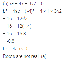 ML Aggarwal Class 10 Solutions for ICSE Maths Chapter 5 Quadratic Equations in One Variable MCQS 15
