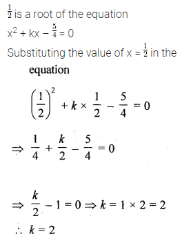 ML Aggarwal Class 10 Solutions for ICSE Maths Chapter 5 Quadratic Equations in One Variable MCQS 4