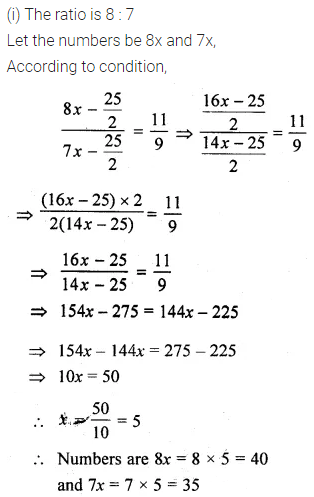 ML Aggarwal Class 10 Solutions for ICSE Maths Chapter 7 Ratio and Proportion Ex 7.1 20