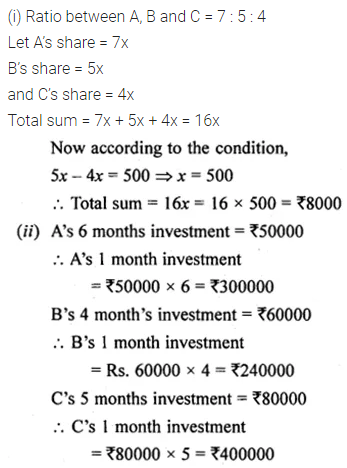 ML Aggarwal Class 10 Solutions for ICSE Maths Chapter 7 Ratio and Proportion Ex 7.1 25