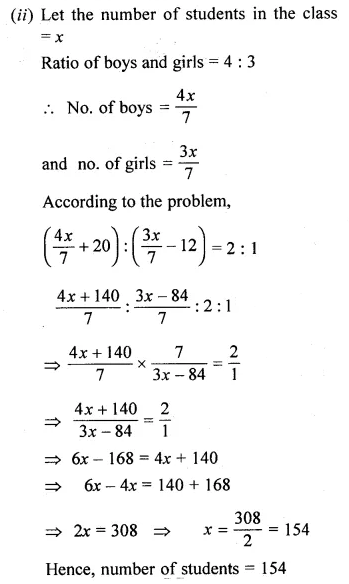 ML Aggarwal Class 10 Solutions for ICSE Maths Chapter 7 Ratio and Proportion Ex 7.1 30